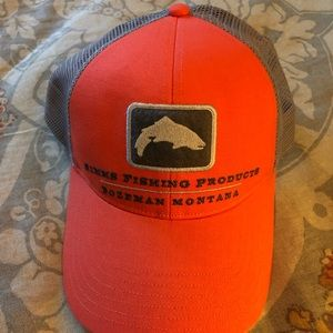 Simms Fishing Products trucker hat